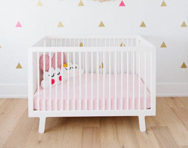 15 Glitzy Gold Ways to Make a Nursery or Kid's Room Shine