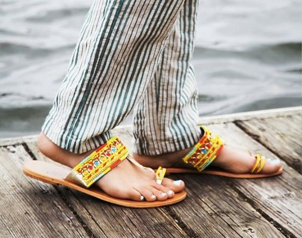 These 16 Pairs of Chic Flip Flops Are Not for the Pool