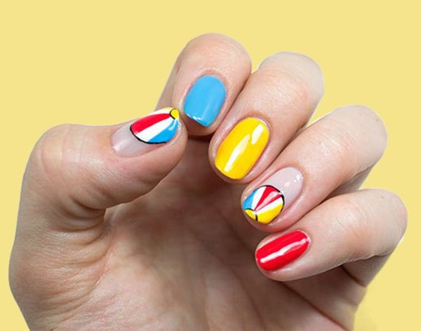 14 Brilliant Beach-Inspired Manis to Try This Summer