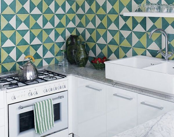 Beyond Tile: 25 Truly Beautiful Kitchen Backsplashes