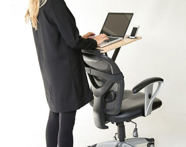 StorkStand Turns Any Chair Into a Standing Desk
