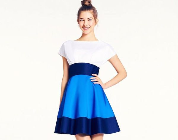 20 Bold Color Block Dresses