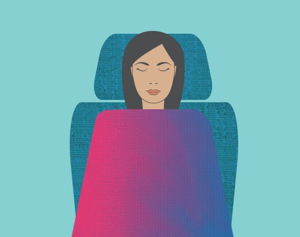This Airline's Happiness Blankets Are Like Mood Rings for Your Flights