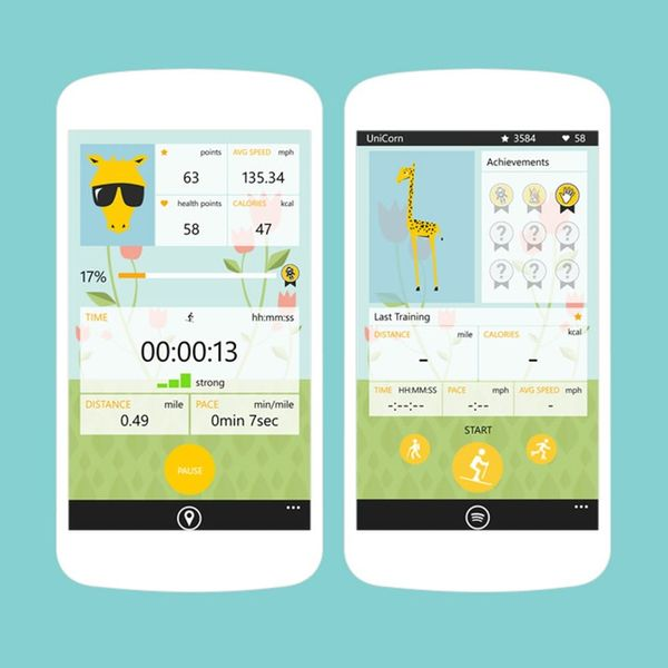 This App Is like a Fitness Tracking Tamagotchi