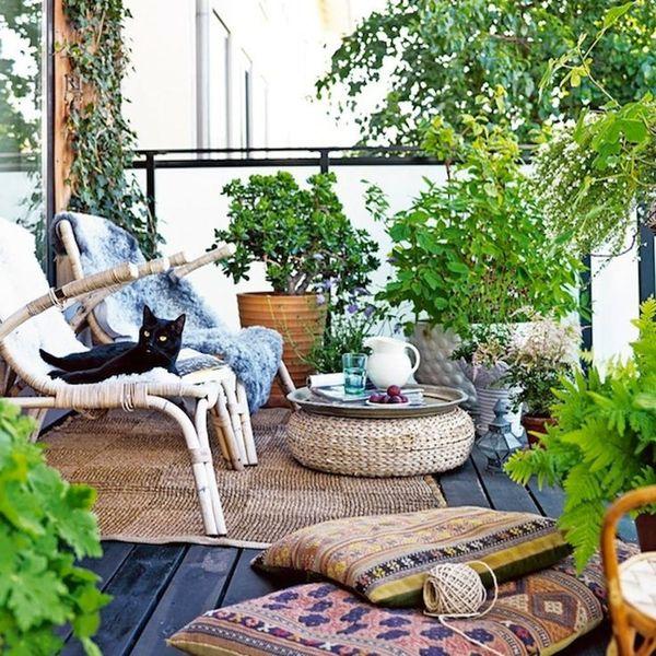 15 Tiny Outdoor Garden Ideas for the Urban Dweller