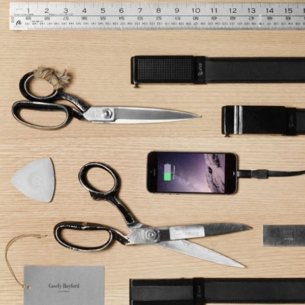 Would You Wear a Belt That Charged Your Phone?