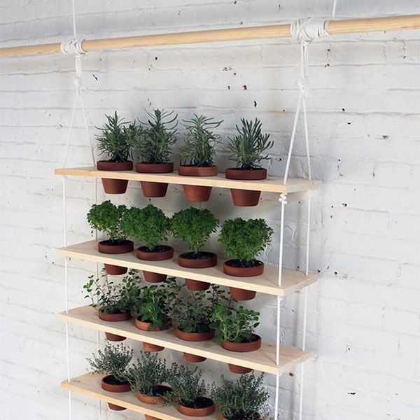 What to Make This Weekend: A Hanging Garden, Yarn Wall Art + More