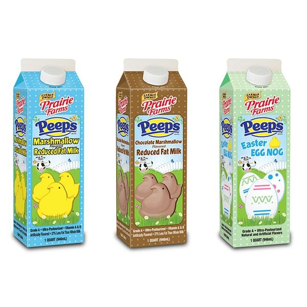 What the PEEP?! Peeps Milk Is Easter's Official Drink