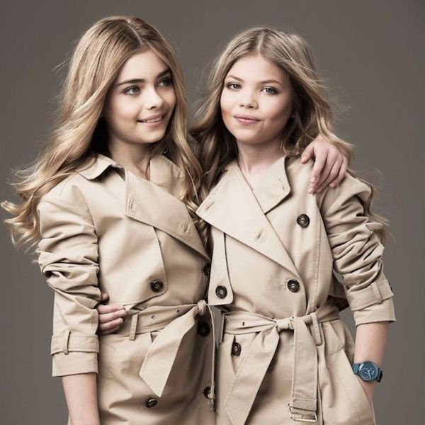These Kid Models Look like Mini Cara D + Kate Moss