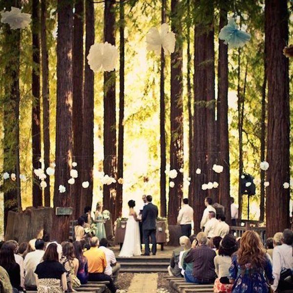 20 Inspired Ideas for a Dreamy Woodland Wedding