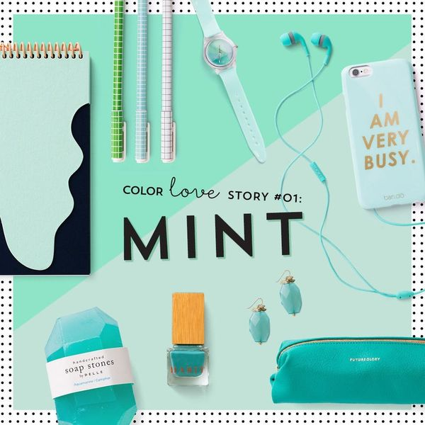 #ColorLoveStory: 20 Minty Fresh Products We Love