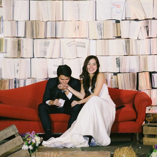 We're Geeking Out Over This Chic Comic Book Wedding