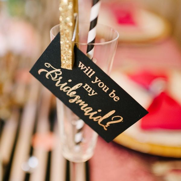 15 Fun Ways to Pop the Question… to Your Bridesmaids!
