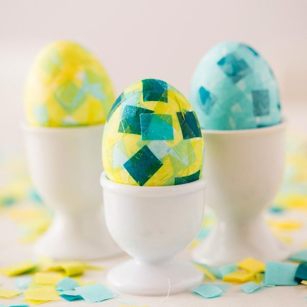 Get Hopping With This Dye-Free Easter Egg Idea