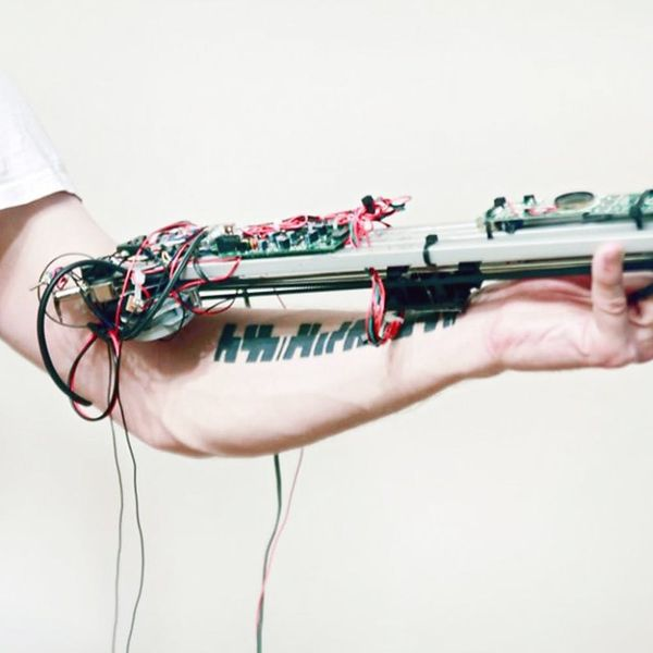 OMG: This High-Tech Tattoo Turns Your Arm Into a Music Box