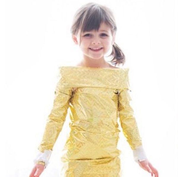 This 5-Year-Old Recreated the Best Oscars Looks With Paper