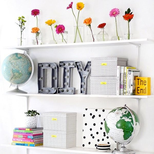 25 of the Prettiest #Shelfies from Instagram