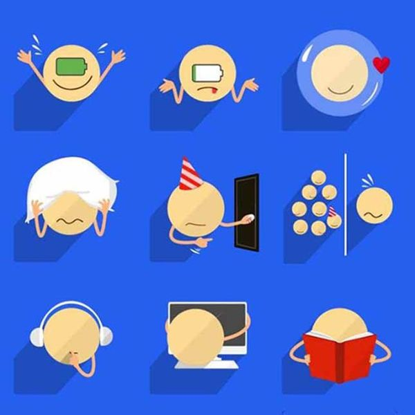 Introverts, There's Now Emoji to Express Your Feelings