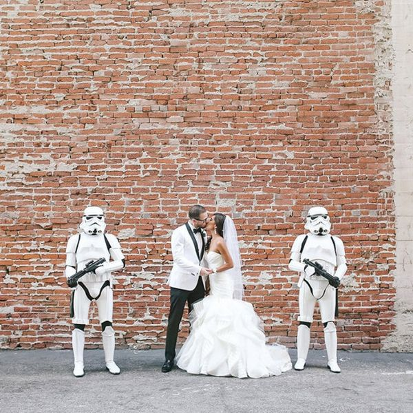 This Star Wars-Themed Wedding Is Nerdy in the Prettiest Way Possible
