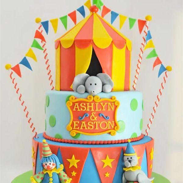 8 Birthday Cake Ideas for Twins