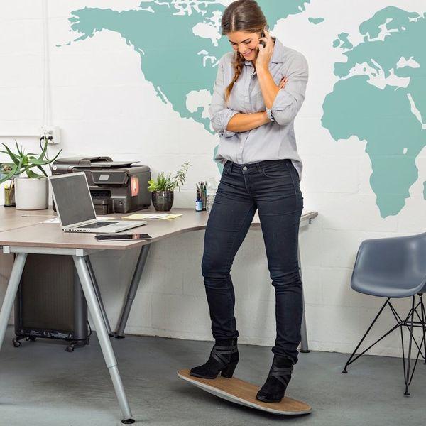 Forget Standing Desks — Surfing Desks Are the Latest Work Trend