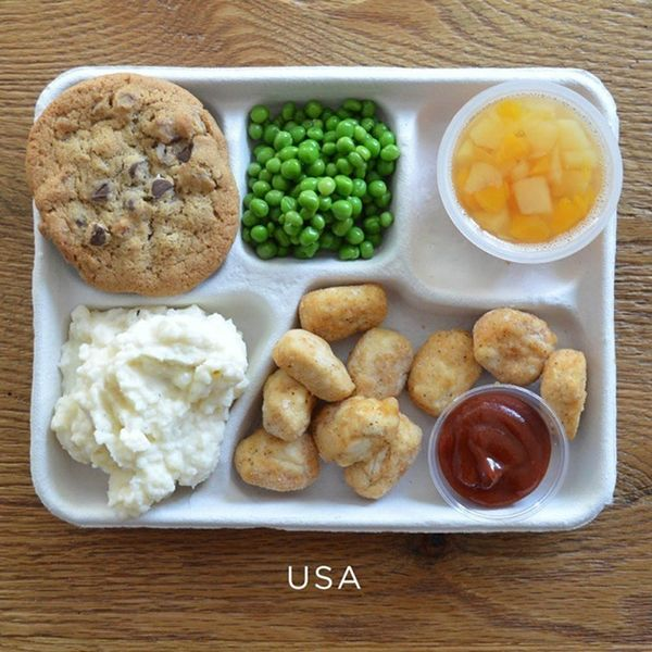 Photo Evidence That America Might Have the Worst School Lunches