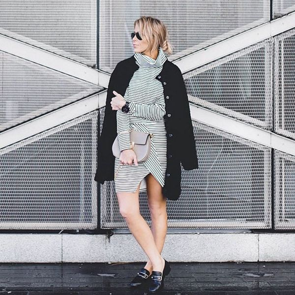 7 #OOTDs for the Week: Turn Your Classic Peacoat Into a Statement Coat