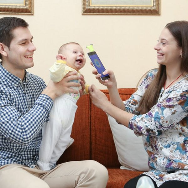 This Smart Thermometer Will Change the Way You Take Your Kiddo's Temp