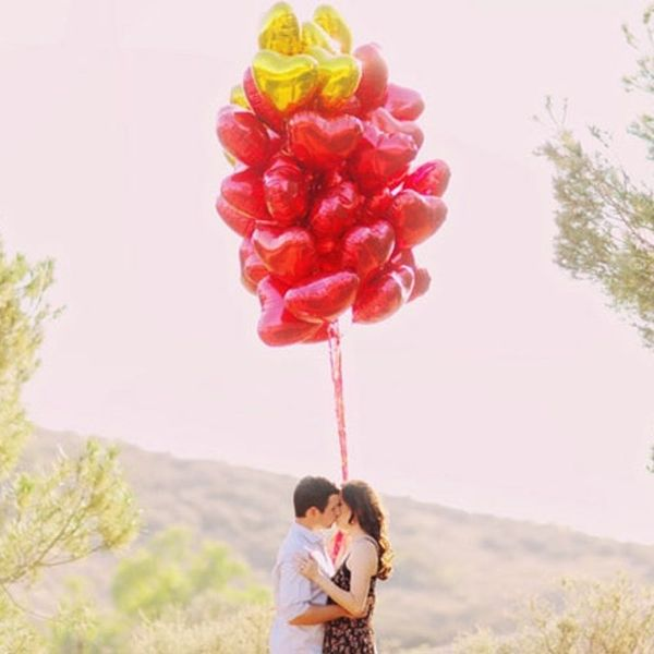 21 Valentine's Day-Inspired Engagement Shoots