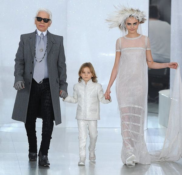 Here's How Karl Lagerfeld Wants to Dress Your Kids