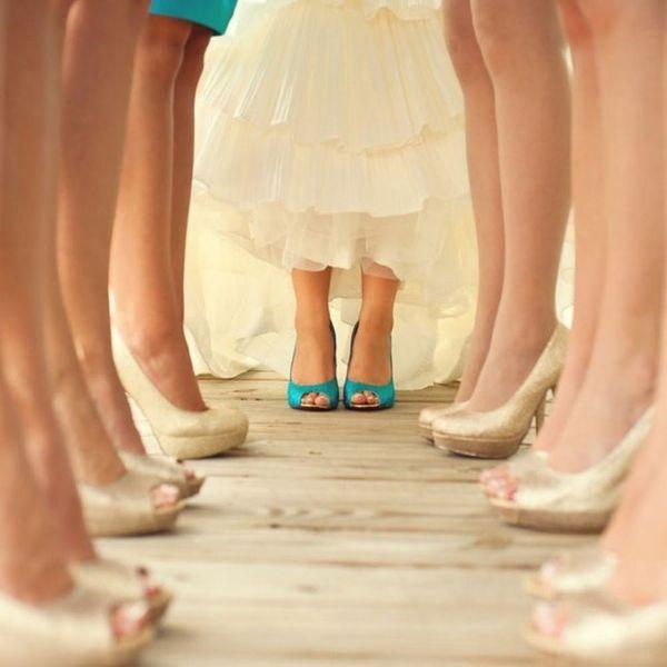 11 Unique Shoe Shots for Your Wedding
