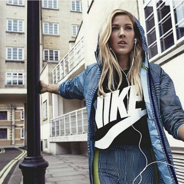 Your Most Compelling Reason to Run Yet = Ellie Goulding's Activewear Collab