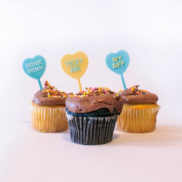 How to 3D Print Conversation Heart Cupcake Toppers