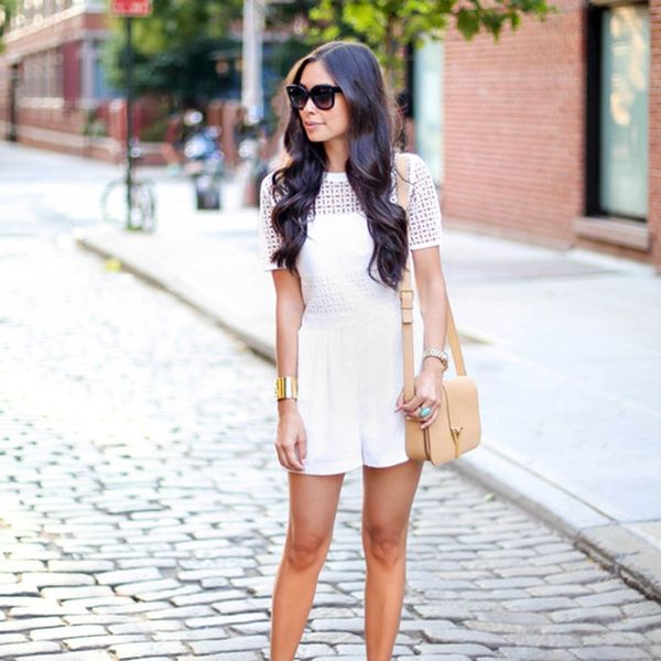 10 Times Brides Should Definitely Rock a Romper