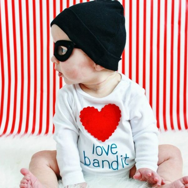 12 Valentine's Day Onesies for Your Little Heartbreaker