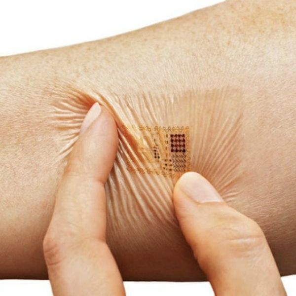 This Smart Bandage Monitors Your Heart Rate, Temp + More