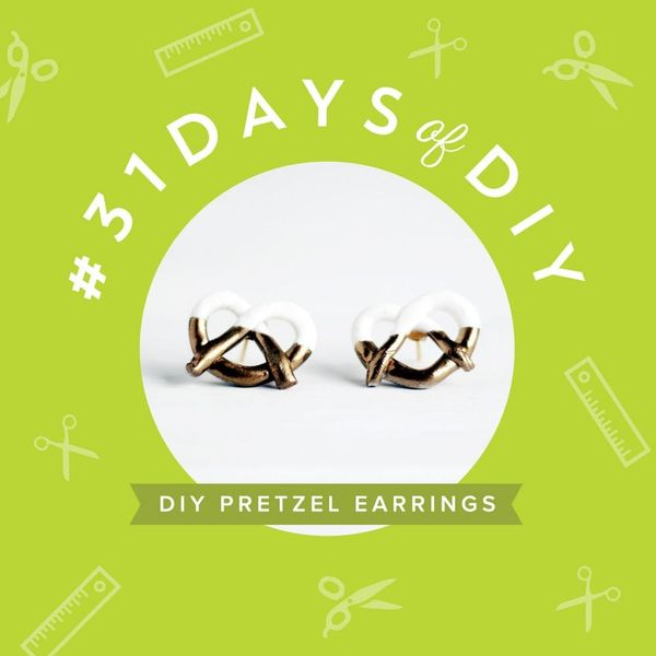 DIY These Marc Jacobs-Inspired Pretzel Earrings for $15