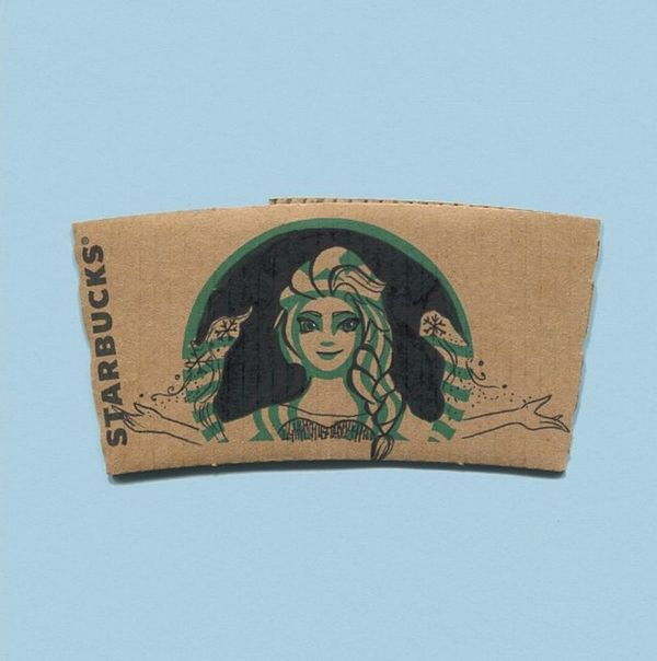 Starbucks Sleeves Are Getting a Makeover from This Artist