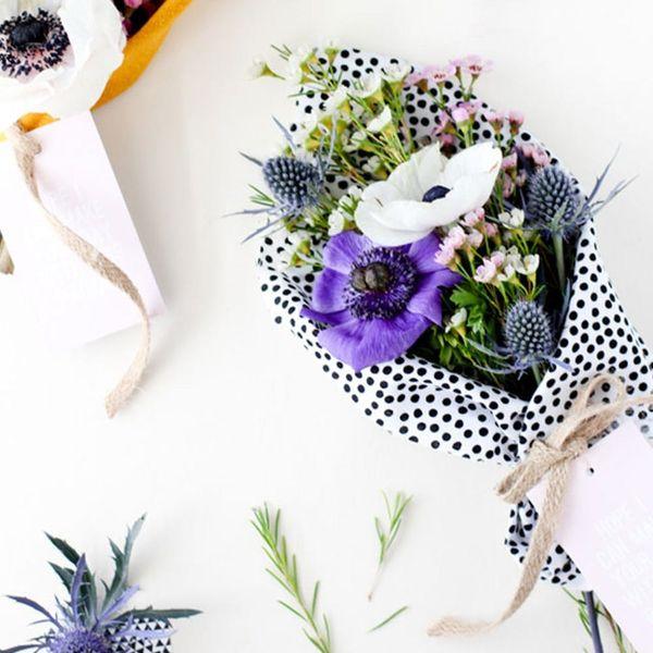 14 Fresh Takes On a Bouquet Wrap