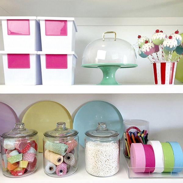 See How Bakerella Keeps Her Cake-Poppin' Pantry Organized
