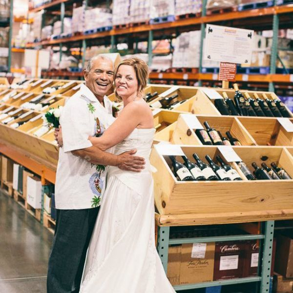 This Couple Got Married at Costco