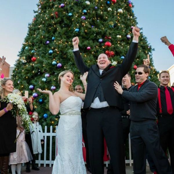 This Flash Mob Wedding Is the Coolest Thing You'll See Today