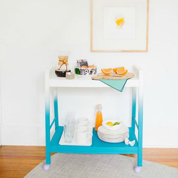 Ombre Your Furniture With These 11 DIYs
