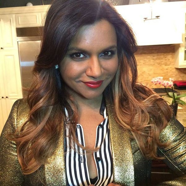 What Do You Think of Mindy Kaling's New Blonde 'Do?