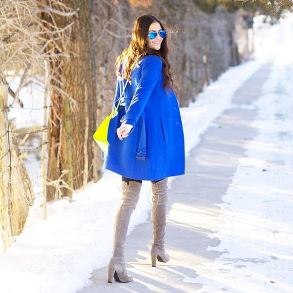 7 Style Bloggers Who Nailed the Sunglasses-in-the-Winter Look