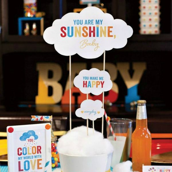 14 Adorable Gender-Neutral Baby Shower Themes
