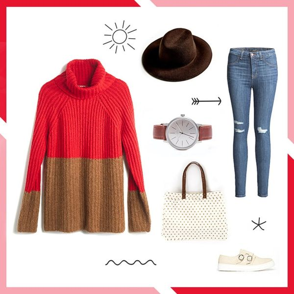Style Resolutions: 3 Ways to Style an Oversized Turtleneck