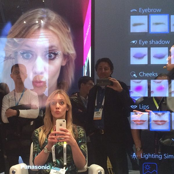 Smart Mirror Spots Wrinkles, Makes You Look like You're in Hunger Games