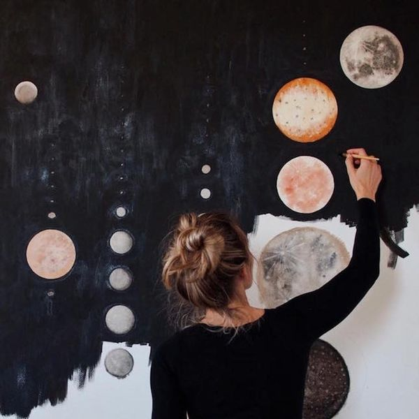 Made Us Look: Painted Planets and Adorable Dogs
