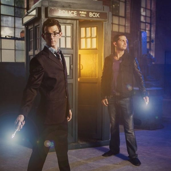 This Geek Chic Dr. Who Wedding Is Out of This World